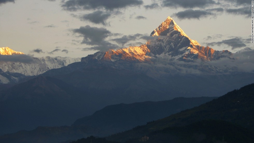 Temperatures in the central Himalayas increased by about 0.6 degrees Celsius per decade between 1977 and 2000, according to one study. The impact of climate change at the top of the world could accelerate glacial melt and affect rainfall and monsoon season. There's also greater risk of catastrophes such as avalanches, landslides and floods.
