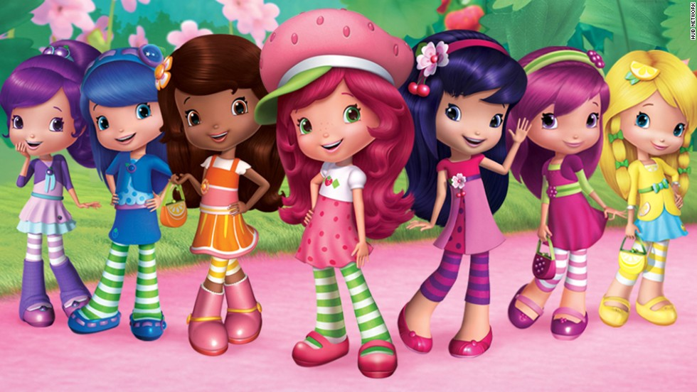 "<strong>Then: </strong>Strawberry Shortcake and her group of deliciously named friends were some of the sweetest characters of the '80s. Like Rainbow Brite, the character was spun off a greeting card to include TV movies and toys. <strong>Now: </strong>You can find the new version of Strawberry Shortcake on Hub's ""Strawberry Shortcake's Berry Bitty Adventures."""
