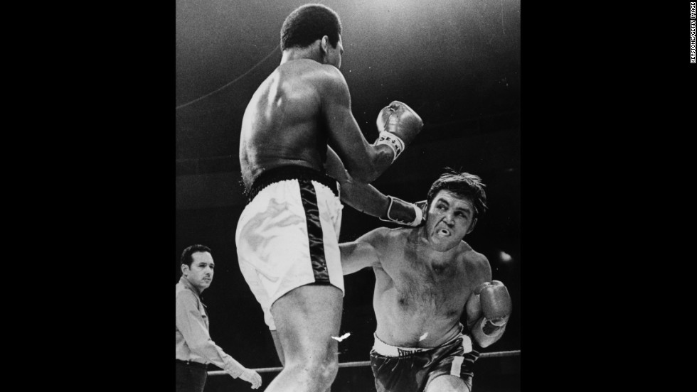 On November 2, 1970, Ali returned to the ring for his first professional fight in three years. He defeated Jerry Quarry in the third round.