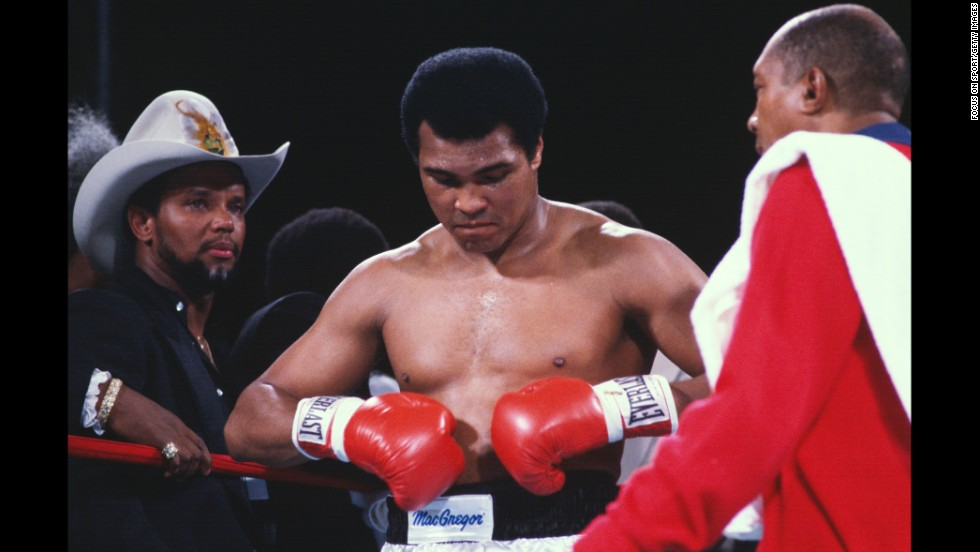 Ali came out of retirement on October 2, 1980, for a title fight with Larry Holmes and a guaranteed purse of $8 million. Holmes won easily, beating up Ali until the fight was stopped after the 10th round.