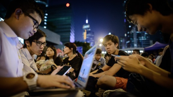 The company that developed the application, Open Garden, initially struggled to keep up with its new-found popularity, adding more capacity as news of the app spread from Hong Kong to rest of the world.