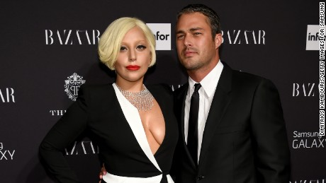 Lady Gaga and Taylor Kinney attend a September event at The Plaza Hotel in New York City.