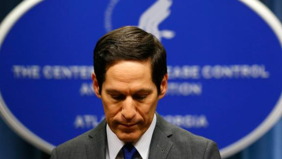 Former CDC director Thomas Frieden was arrested Friday.