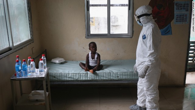 An uncertain future for Ebola's orphans