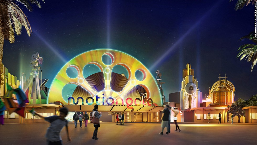Motiongate Dubai is one of the attractions in the works as part of Dubai Parks. The Hollywood-themed park will open alongside a new Legoland and a Bollywood-themed park.