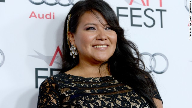 Misty Upham is seen here at the The Los Angeles Times Young Hollywood Roundtable in 2013.