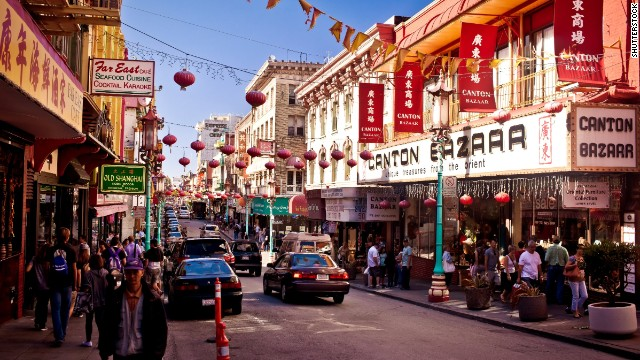 A San Francisco tour bus guide targeted Chinatown with an expletive-filled rant.