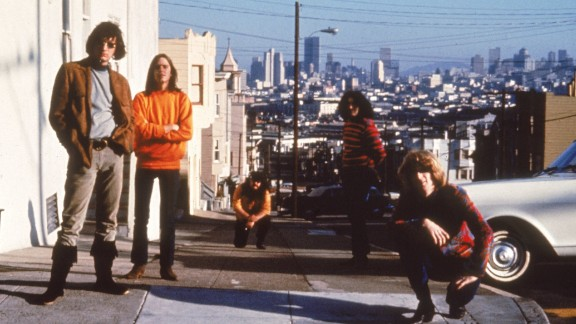 The Grateful Dead in San Francisco in the 1960s. From left, Bill Kreutzmann, Bob Weir, Ron McKernan, Jerry Garcia and Phil Lesh.