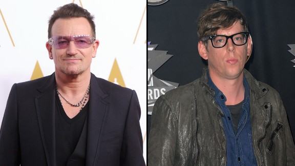 Add Black Keys drummer Patrick Carney, right, to the list of musicians unimpressed with U2