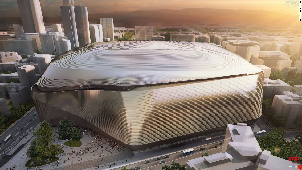 How Real Madrid's new stadium is set to look in 2020.