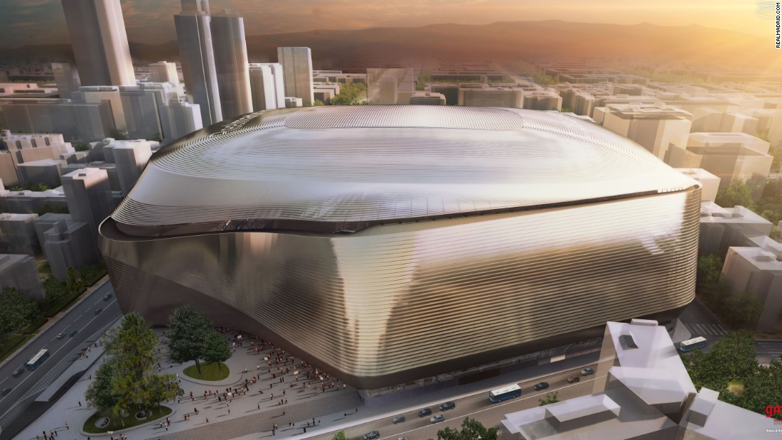 How Real Madrid's new stadium is set to look.