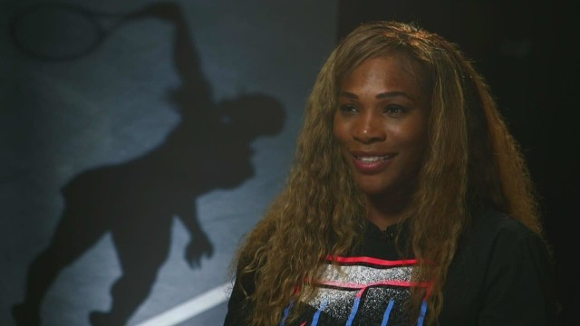 Serena Williams:  Standing with Giants