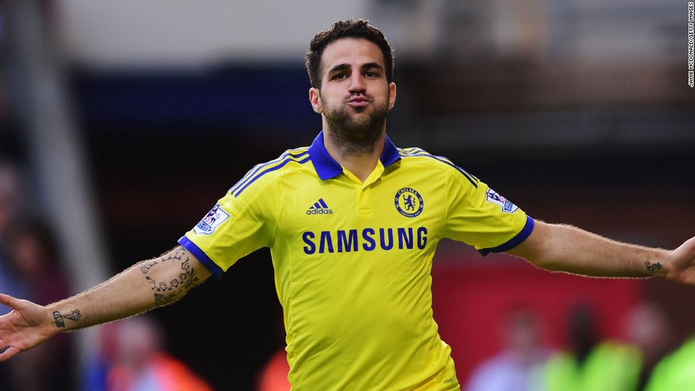His arrival from Barcelona has transformed Chelsea's style of play under manager Jose Mourinho. Midfielder Cesc Fabregas has been one of the Premier League's outstanding players.