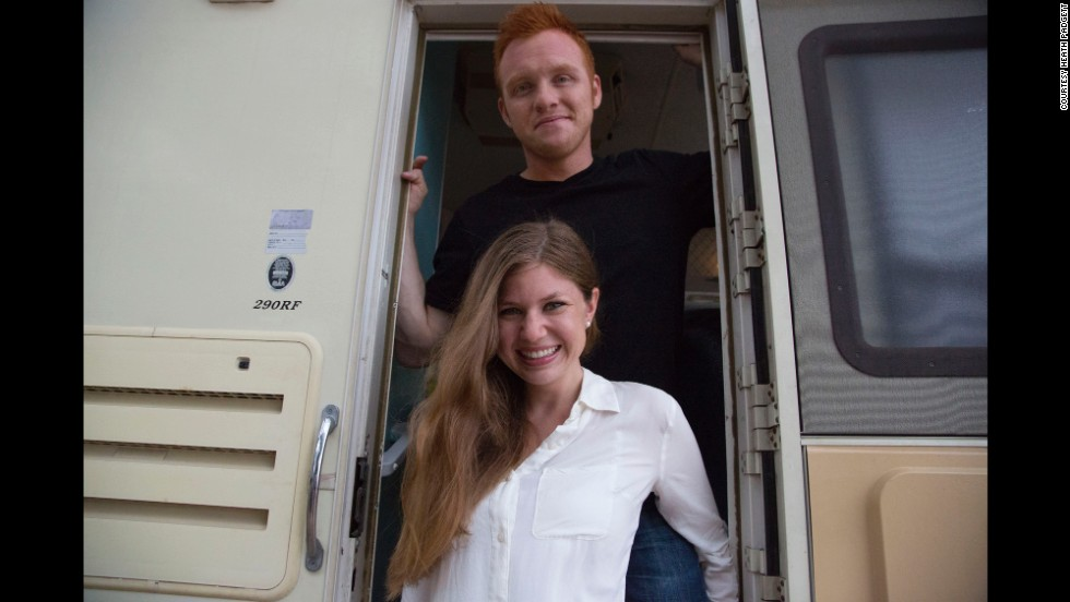 "The couple found and bought their RV, which they fondly named ""Franklin,"" on Craigslist."