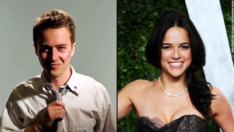 "Edward Norton captivated audiences in ""Fight Club."" Michelle Rodriguez could do the same, and let's not forget she played a fighter in the 2000 film ""Girlfight."""