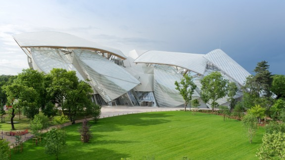 Fondation Louis Vuitton -- the philanthropic wing of luxury conglomerate LVMH -- has opened a new contemporary art museum in Paris, designed by world-renowned architect Frank Gehry.