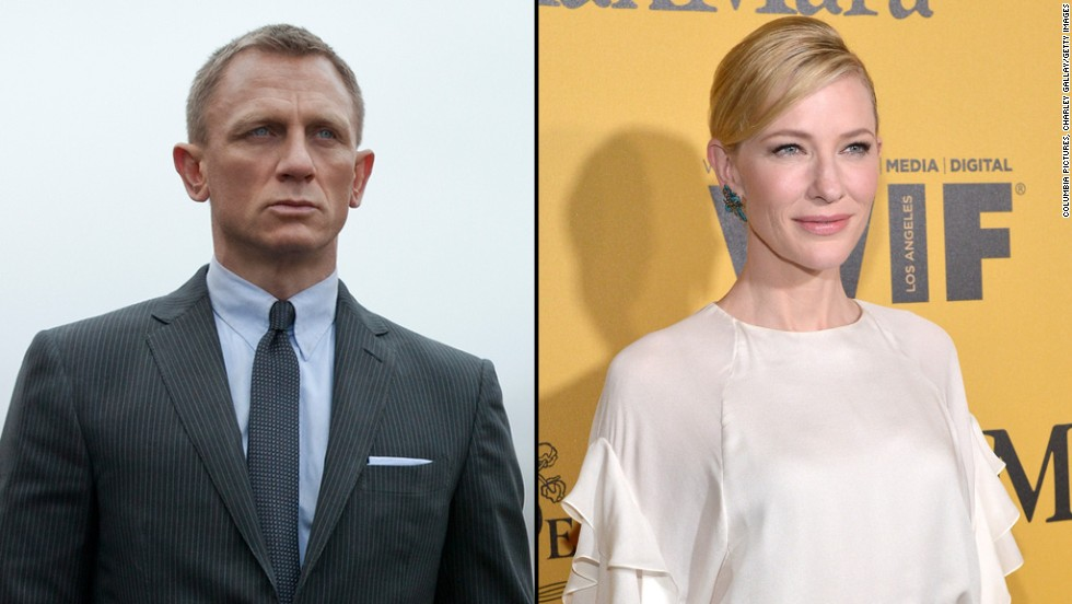 Cate Blanchett has all of the cool needed to take over as a female version of James Bond from Daniel Craig.