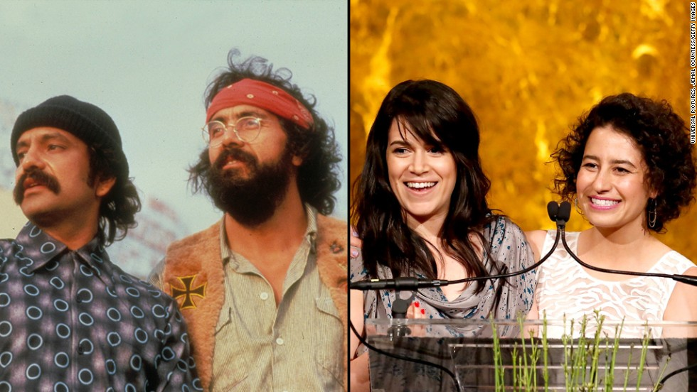 Abbi Jacobson and Ilana Glazer would make a great female and updated Cheech and Chong.