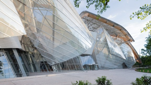 "Gehry was inspired by glass garden architecture from the late 19th-century. The building has already been nicknamed ""the glass bird"" and ""the iceberg."""