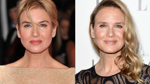 When Renee Zellweger arrived at the 2014 Elle Women in Hollywood awards, some people said they couldn