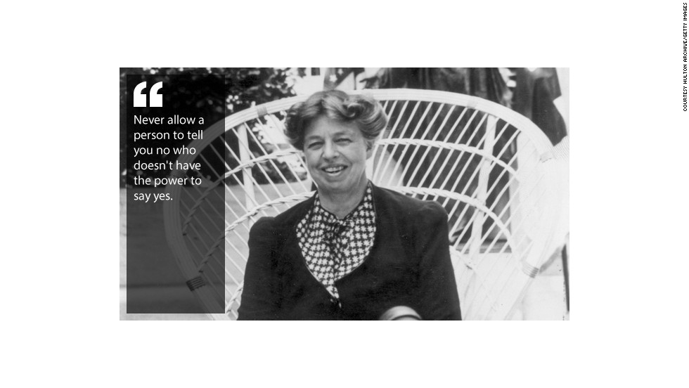 The Wit And Wisdom Of Eleanor Roosevelt Cnn