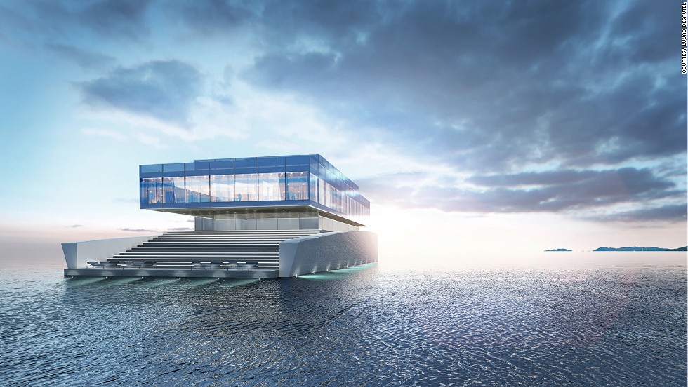 Sleek, space age, and sparkling. If these naval architects have their way, the superyacht of the future will resemble more of a floating piece of art, than a traditional boat. <br /><br />From glass cubes inspired by Lego, to spiraling decks modeled on opera houses, these are some of the dream designs of industry insiders. <br /><br />But will their fantastical vessels actually see the light of day? With estimated price tags in the hundreds of millions of dollars, it will take an adventurous client -- and one with deep pockets at that.
