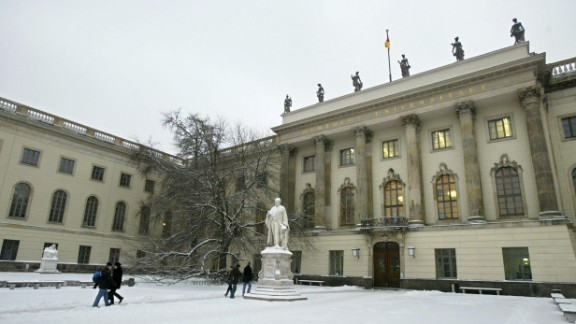 With 25 Nobel prize winners amongst its alumni, Humboldt University has established itself as one of the most prestigious universities in Europe.