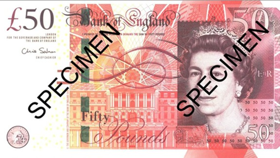 """But currency expert Thomas Hockenhull, of the British Museum, says the latest in paper money technology, such as the newest UK £50 note, can be more difficult to forge than polymer notes. The £50 note includes raised ink, a metallic thread embedded in the paper, and a number """"50"""" that appears in red and green under ultraviolet light."""
