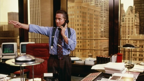 """Why is it that we all want more confidence when there are so many stories of hubris leading to downfall? Just look at the movies. Take """"Wall Street"""" sleaze Gordon Gekko (pictured). The stockbroker"""