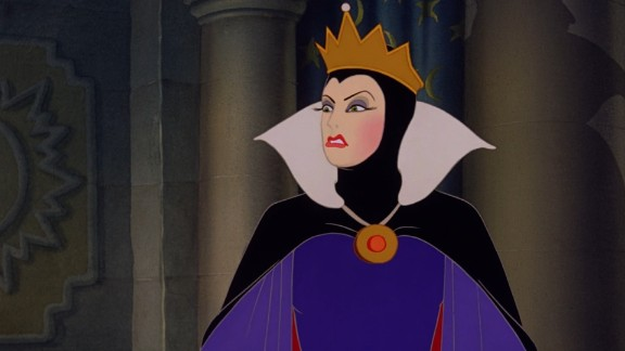 """Confidence can cause delusion and what finer example of that than The Queen in """"Snow White and The Seven Dwarfs."""" Her evil plan to kill Snow White and become the """"fairest of them all"""" inevitably fails. Sometimes it"""