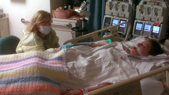 At age 13, a routine surgery landed Claire in a medically induced coma for two weeks.