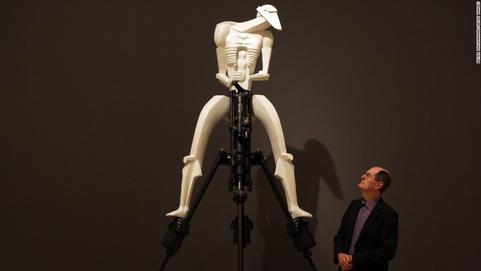 "Jacob Epstein's 1913 sculpture ""Rock Drill"" glorified an inhuman mechanization and anticipated even the battle droids from the Star Wars franchise's prequel, ""The Phantom Menace,"" at the century's end."