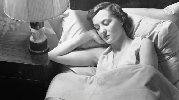 UNITED STATES - CIRCA 1950s: Woman sleeping in bed. (Photo by George Marks/Retrofile/Getty Images
