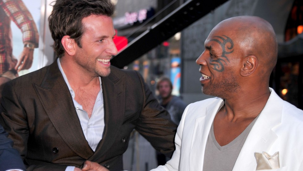 Former undisputed heavyweight champion of the world Mike Tyson played himself in The Hangover alongside Bradley Cooper.