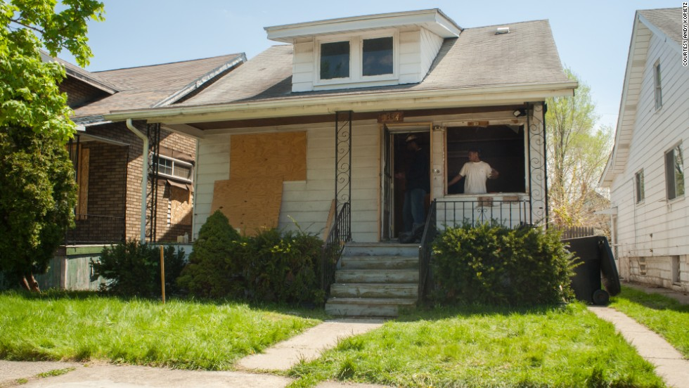 Write A House is a project that purchases and renovates foreclosed homes in Detroit before giving them away to aspiring literary talents.