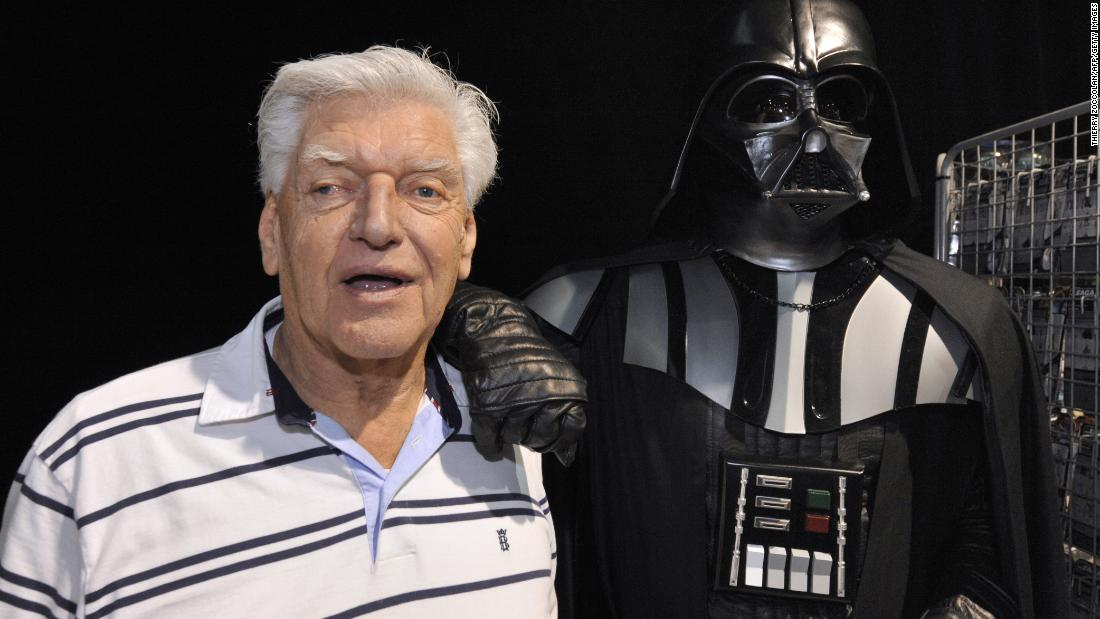 David Prowse, the original Darth Vader, dies aged 85 - CNN