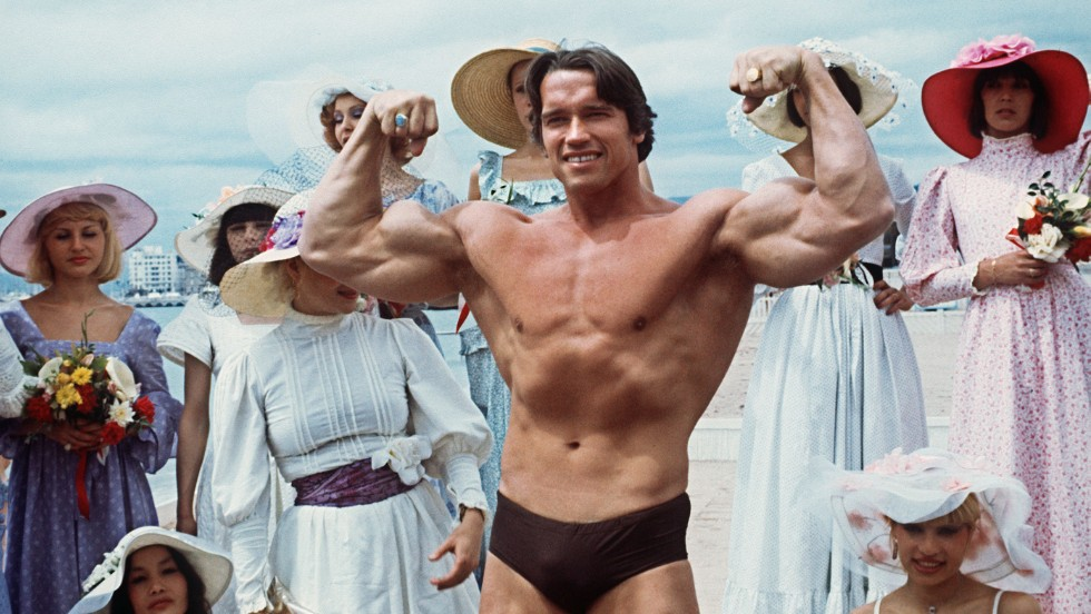 Arnold Schwarzenegger was a professional bodybuilder when he moved to the US and was a Mr Universe winner.
