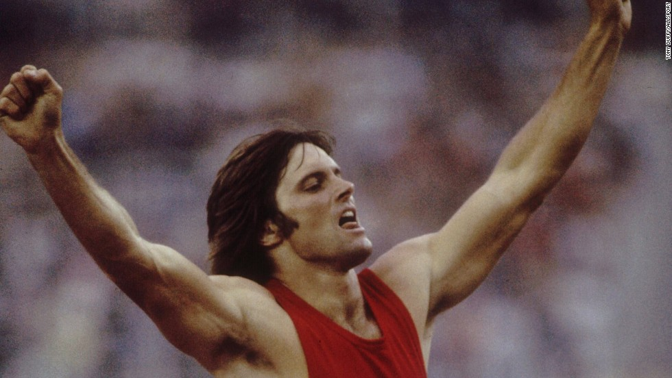 Bruce Jenner won decathlon in the 1976 Olympic decathlon and later turned to acting, including a starring role in CHiPs. He is now stepdad to Kim Kardashian and her sisters.