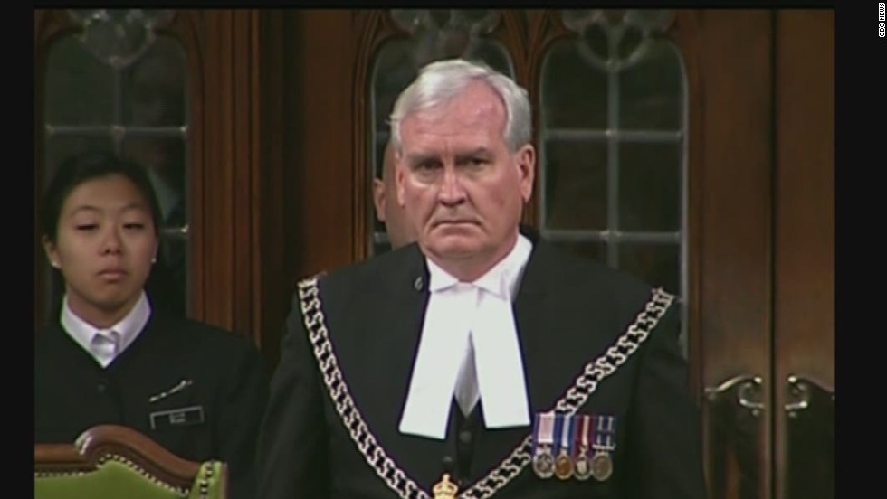 "The publicity-shy Vickers was honored with a standing ovation at a ceremony in November. ""It's incredibly moving to me still that there was someone who ... would be willing to put themselves in the way of danger for me and my colleagues,"" said Mylene Freeman, a member of Canada's parliament."