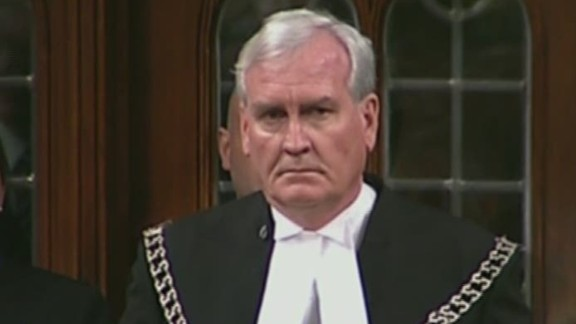 """The publicity-shy Vickers was honored with a standing ovation at a ceremony in November. """"It's incredibly moving to me still that there was someone who ... would be willing to put themselves in the way of danger for me and my colleagues,"""" said Mylene Freeman, a member of Canada's parliament."""