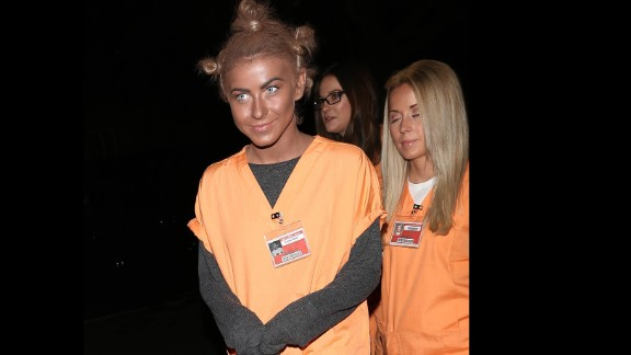 "Rule 1: No blackface. Actress and dancer Julianne Hough learned this rule the hard way when she dressed as ""Orange is the New Black"" character ""Crazy Eyes"" for Halloween in 2013. ""It certainly was never my intention to be disrespectful or demeaning to anyone in any way. I realize my costume hurt and offended people and I truly apologize,"" Hough said via Twitter."