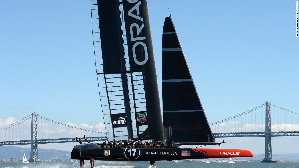 Ben Ainslie was also part of Team Oracle's America's Cup victory in 2013. Now the Briton is in charge of his own team.