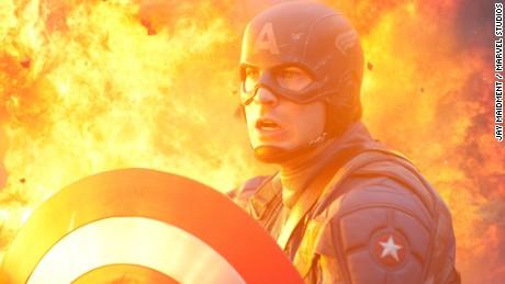 Chris Evans in 'Captain America: The First Avenger' (2011)
