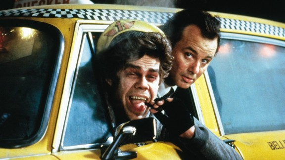 """""""Scrooged"""" with Bill Murray and David Johansen """"... was obviously intended as a comedy, but there is little comic about it, and indeed the movie"""