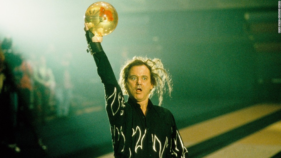 "The crazy Murray returned in 1996's ""Kingpin,"" a Farrelly brothers film in which Murray plays Ernie McCracken, an over-the-top bowler. Murray did a lot of his own bowling, including a sequence in which he hits three straight strikes."