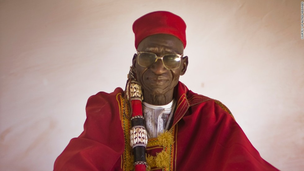 "Weidinger found that one thing that seems to distinguish African monarchs from royals across the globe is a keen religious focus<br />""Their power is in spirituality and this makes (African monarchs) so unique,"" he says.<br /><em><br />El-Hajj Naaba Kiiba, <em></em>Ouahigouya, Burkina Faso</em>"
