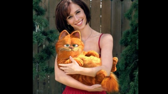 """Murray made """"Garfield: The Movie"""" (2004) because of a misunderstanding. He thought the script was written by Joel Coen of the Coen brothers; instead it was by Joel <em>Cohen</em>. Murray supplied the voice of the famed orange feline who crosses paths with a veterinarian (Jennifer Love Hewitt)."""