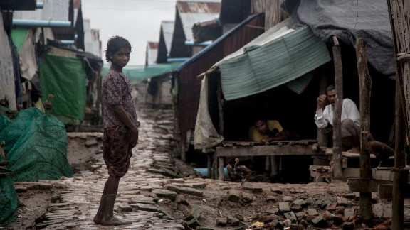 Nget Chaung IDP camp, in a low-lying coastal region of Myanmar's Rakhine state, is home to 6,000 displaced Muslims, made up of 1,170 households. It is known for having some of the worst conditions of any of the 68 IDP camps in the state, which house about 140,000 displaced people.
