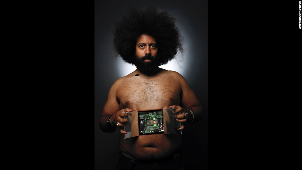 "<strong>Reggie Watts: </strong>""It took some doing but I finally felt comfortable revealing my true nature."""