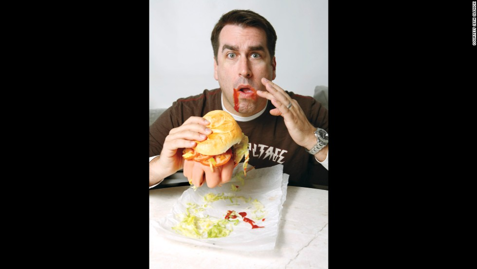 "<strong>Rob Riggle: </strong>""Knuckle sandwich, Doritos and a Diet Coke. That's your typical Riggle lunch..."""